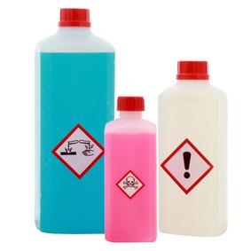 naklejki ostrzegawcze na produkty, druk naklejek na produkty