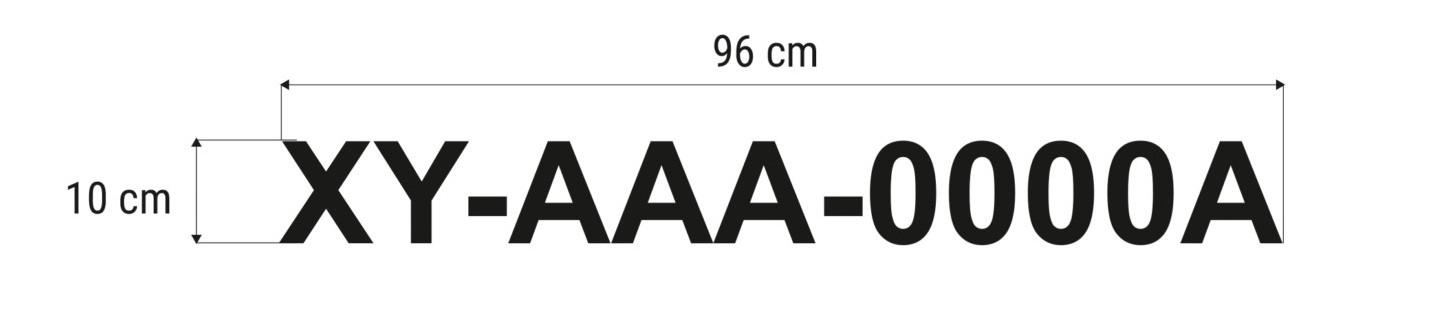 numer rejestracyjny na łódź