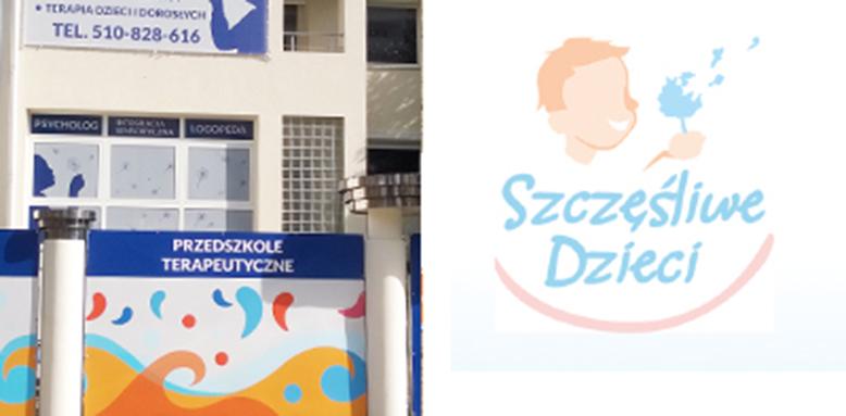 Reklama dla przedszkola Szczęśliwe Dzieci