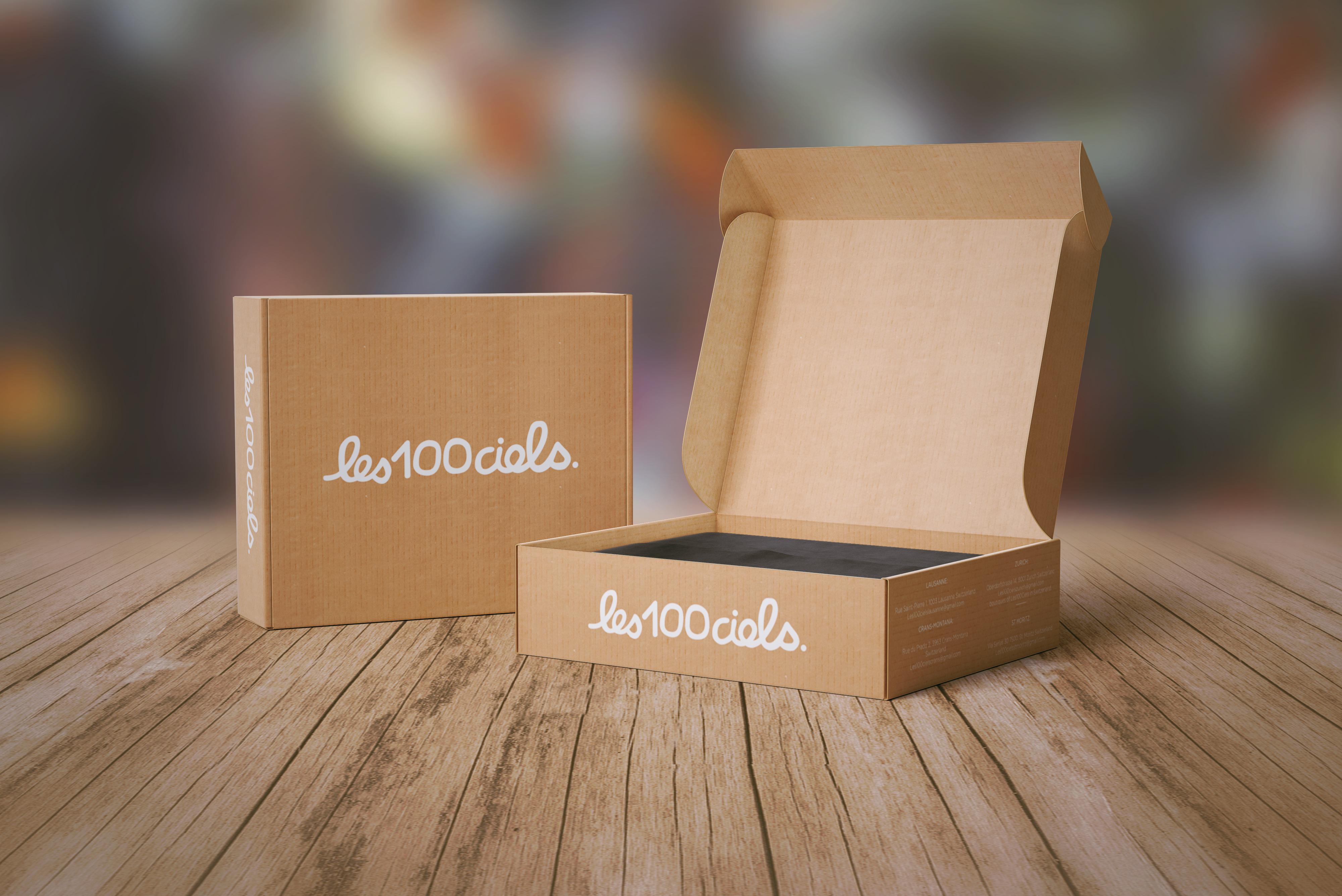 tanie pudełko tekturowe z logo