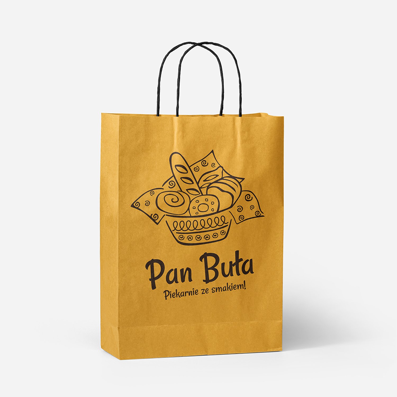 tanie torby papierowe z logo