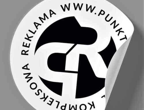 Naklejki z logo